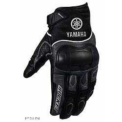Men's yamaha® air force leather / mesh glove