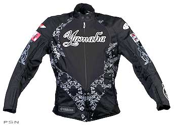Ladies yamaha® luv textile jacket