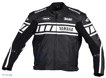 Men's yamaha® champion superbike leather jacket