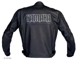 Men's yamaha® nitro leather jacket