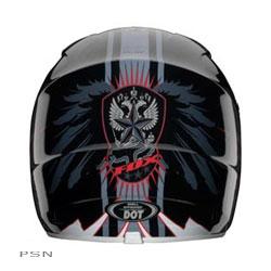 $11528 fox racing v1 vandal helmet medium yellow blue