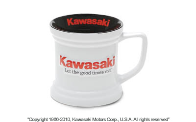 Let The Good Times Roll Kawasaki License Plate