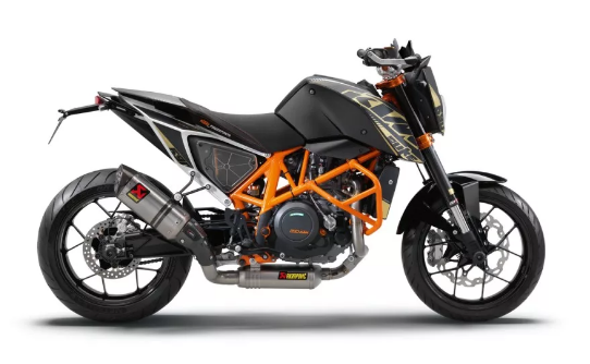 KTM 690 DUKE BLACK CHASSIS